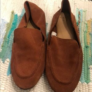 A New Day suede loafers